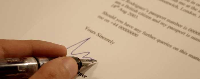 writing to inmates