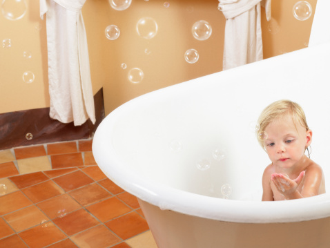 Kids bubble bath products