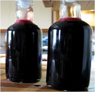 Blackcurrant Bottle