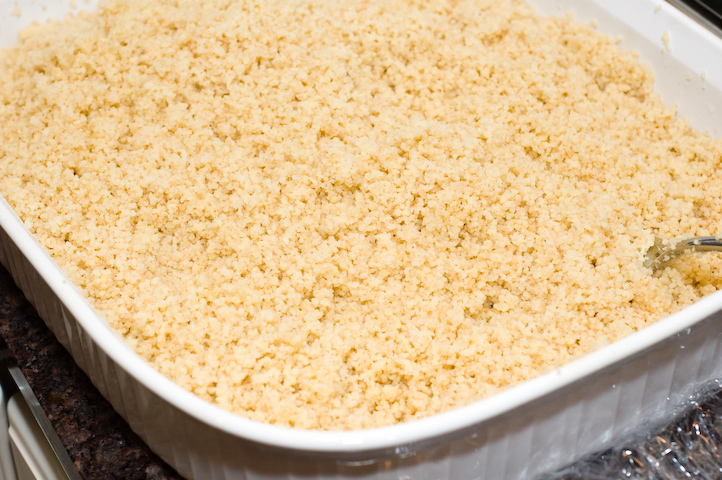 Preparing couscous