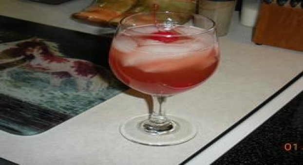 Cran-Dandy Cooler Mocktail