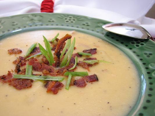 Creamy Five Onion Soup Recipe