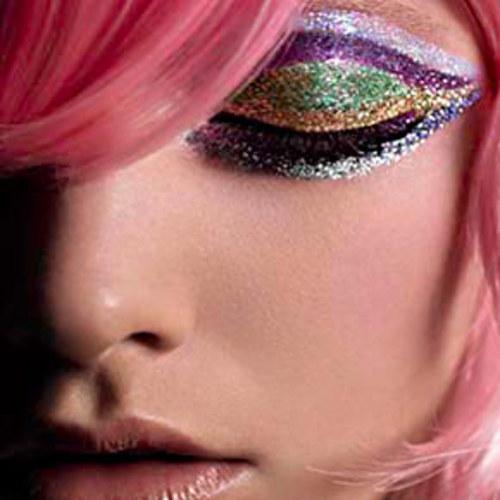 Glamorous Glitter Makeup