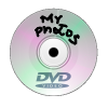 DVD with photos burnt on it
