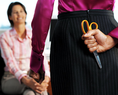 Dealing With Backstabbing Colleagues