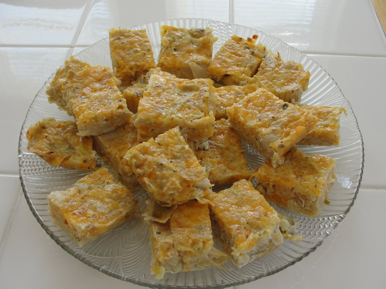 Artichoke Squares, tasty and healthy