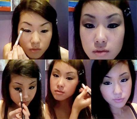how to make asian eyes look huge