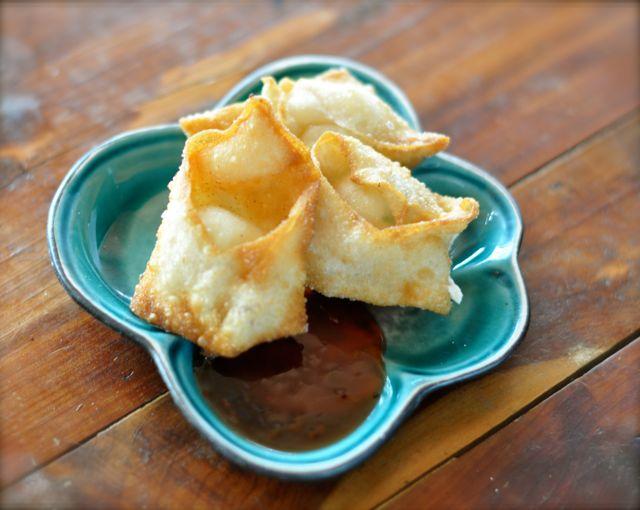 Cream Cheese Wontons