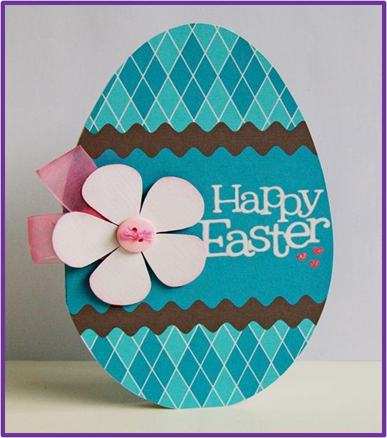 how to make easter egg cards