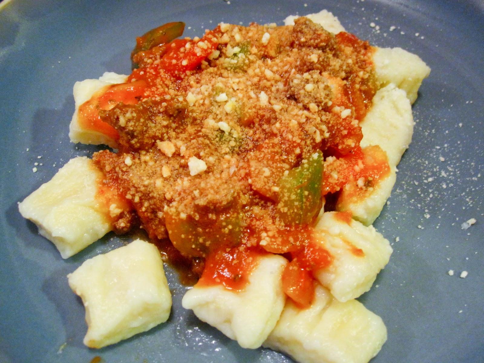 Gnocchi, tasty and healthy
