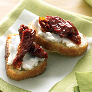 Goat Cheese and Sun Dried Tomato