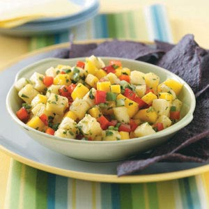 Make Tropical Mango Salsa