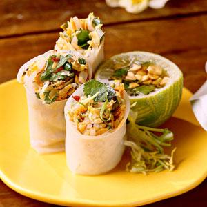 Make Vegetable Summer Rolls