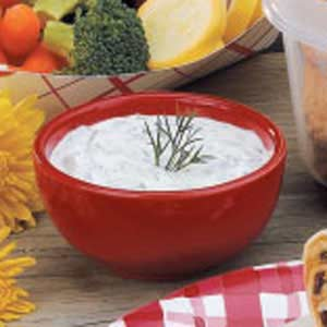 Make a Flavorful Low-Sodium Dill Dip
