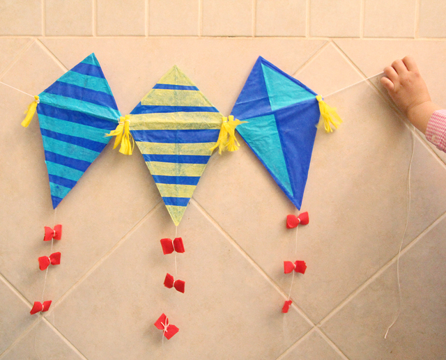 How to make a paper kite with straws - How to make a kite ...