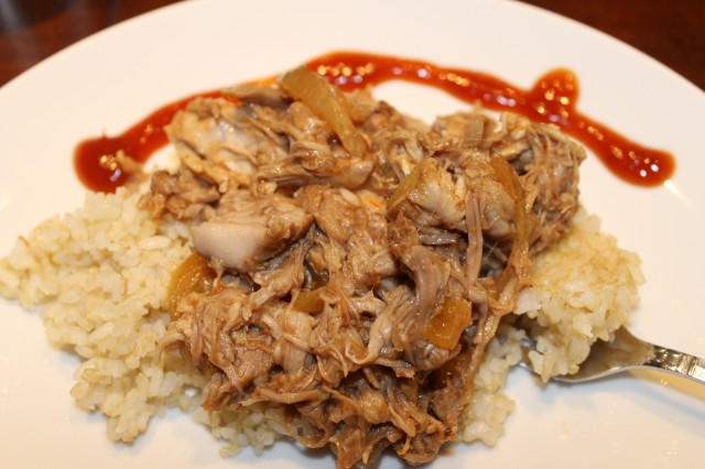 Easy Crockpot Pork BBQ