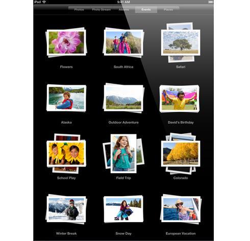 Synced Photos oF An Ipad