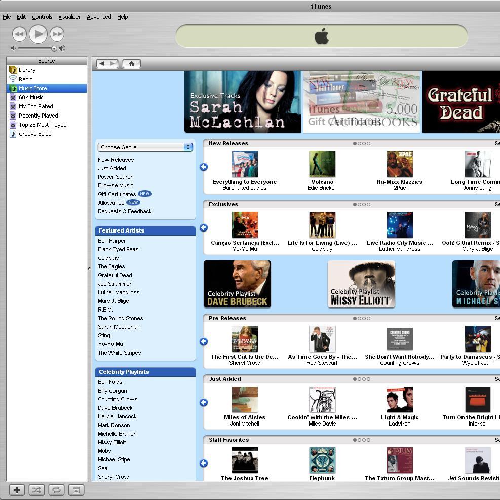 Music on iTunes
