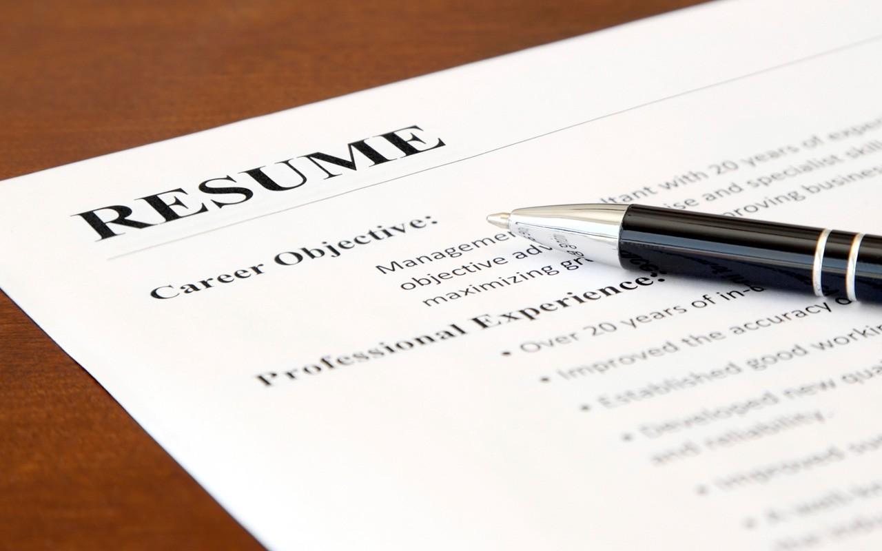 Good resume, good job
