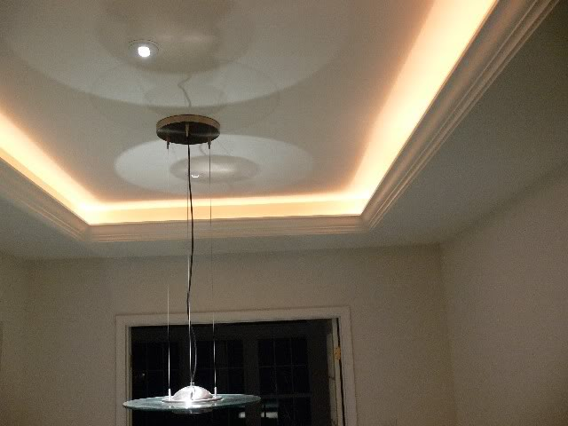 How To Add Rope Lighting To Crown Molding