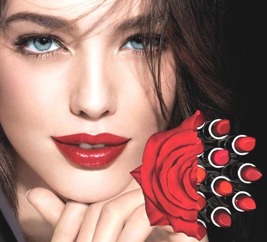 red bridal lipstick