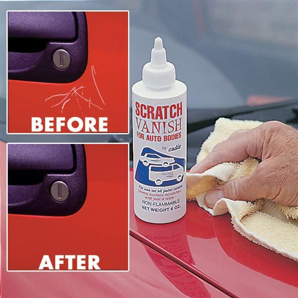 Using Car Scratch Wax
