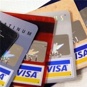 Multiple Credit Cards Visa
