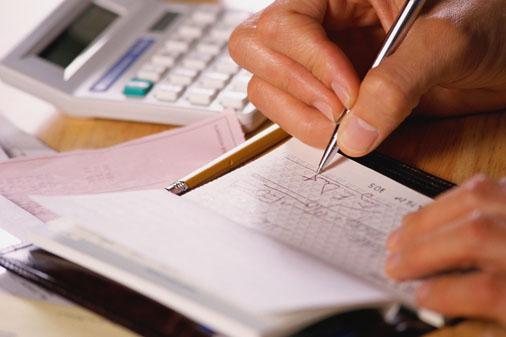 bank spreadsheet