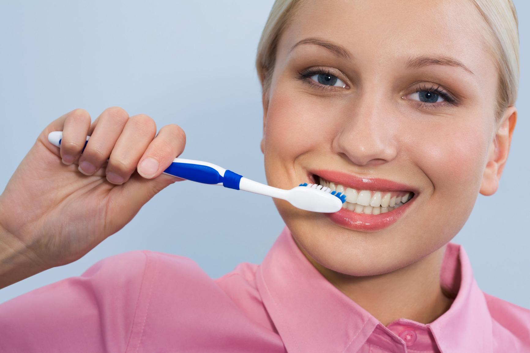Brush teeth, stay healthy