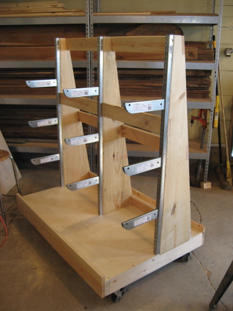 How to Build a Sheet Goods Cart