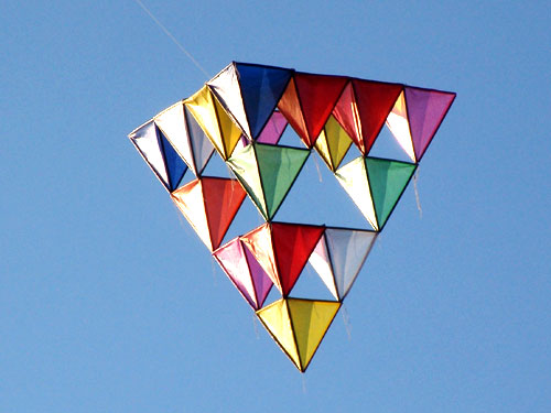 Building a Tetrahedral Kite
