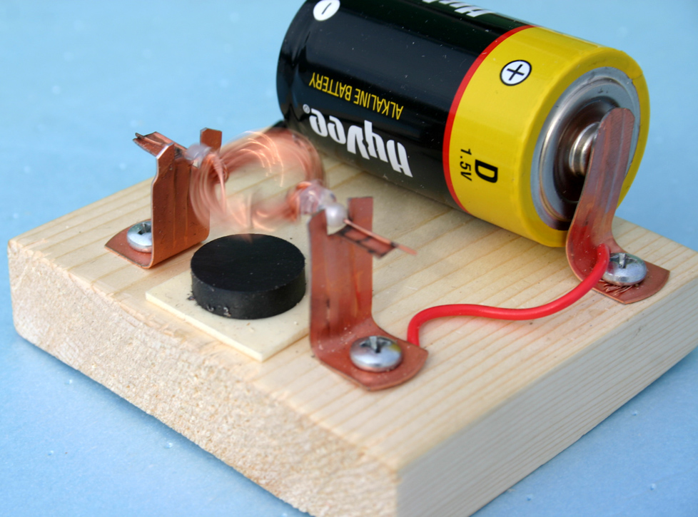 how to build an electric motor