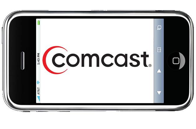 Comcast Email on an IPhone