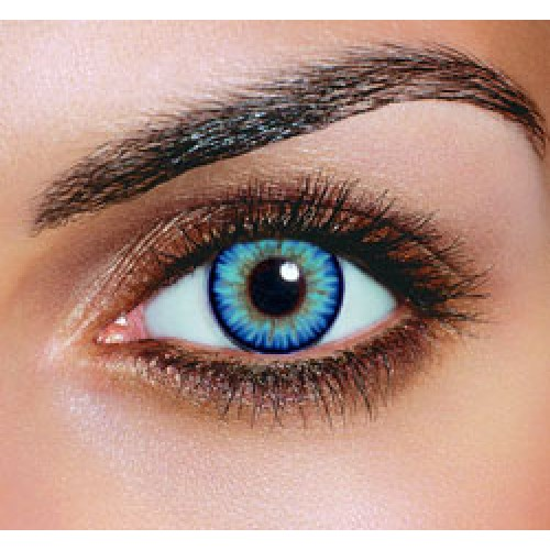 Natural Bright Blue Eye Contacts
