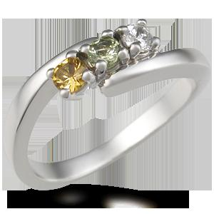 Clean Birthstone And Mother's Ring Jewelry