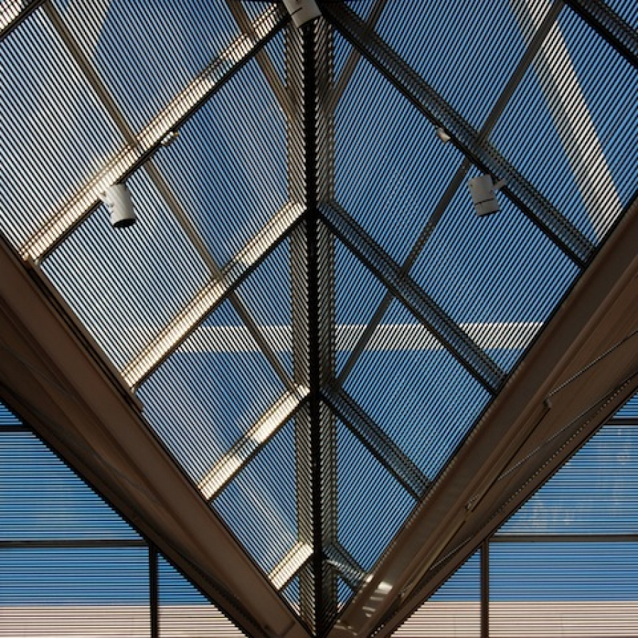 How to clean roof skylights for Large skylights