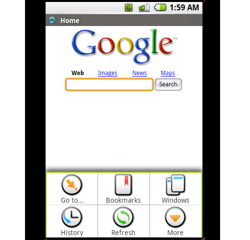 Andriod Browser