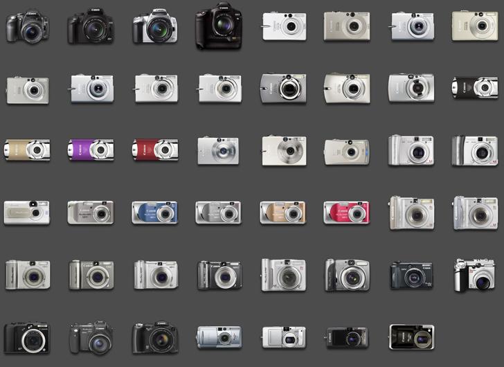 how to compare digital cameras