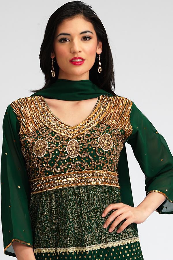 Converting an Indian Salwar Top into a Dress