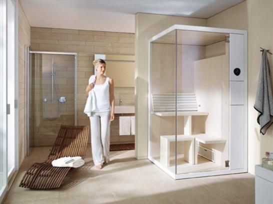 Create a Sauna Environment in a Bathroom