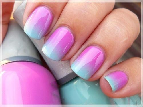 How to create an ombre nail design for What is ombre design