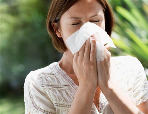 Allergy to mildew