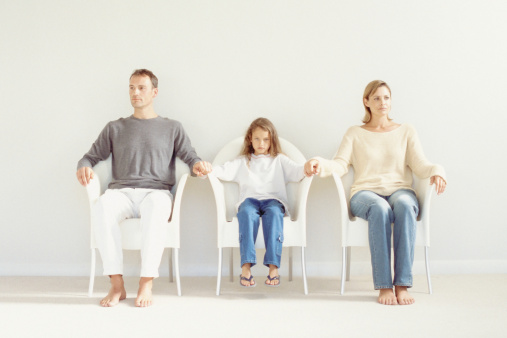 dealing with parents splitting up