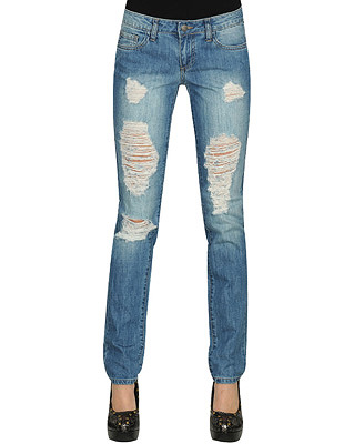 b32e64981d1 How to Distress your Jeans at Home