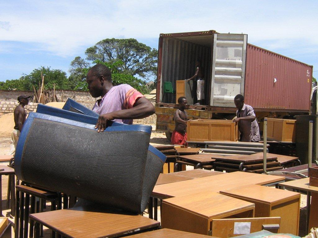 Charity through furniture