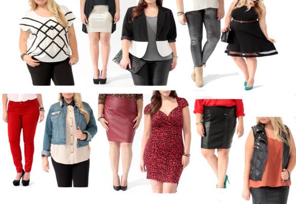 Overweight women fashion