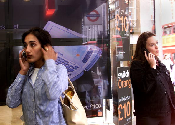 Cellular Phone Use in London