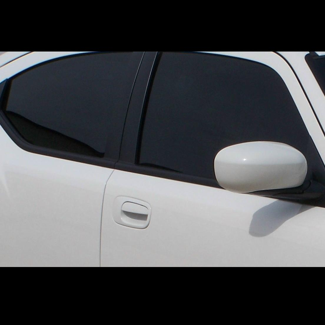 Tint off from window