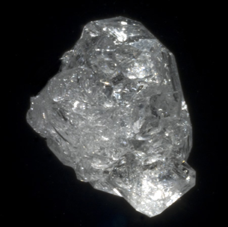 A salt crystal