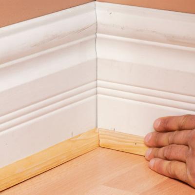 installing base board